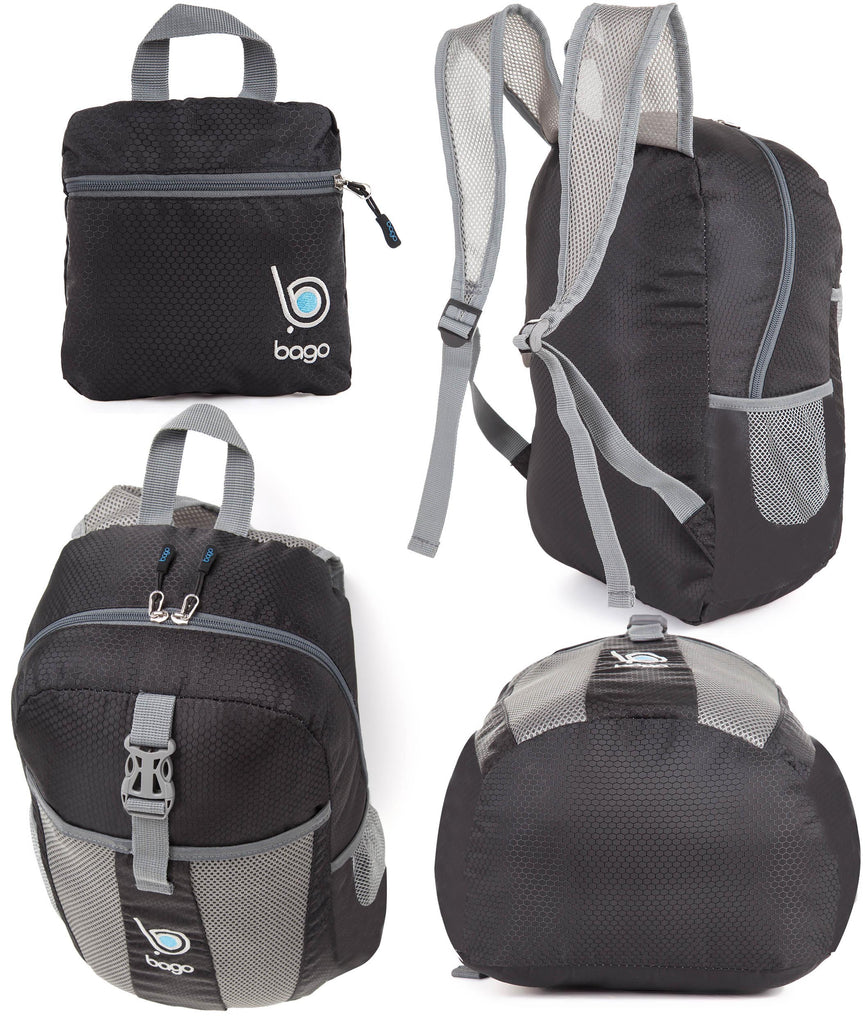 a1ca846f9065 Bago Lightweight Foldable Backpack - for Travel and Sport 25L ...