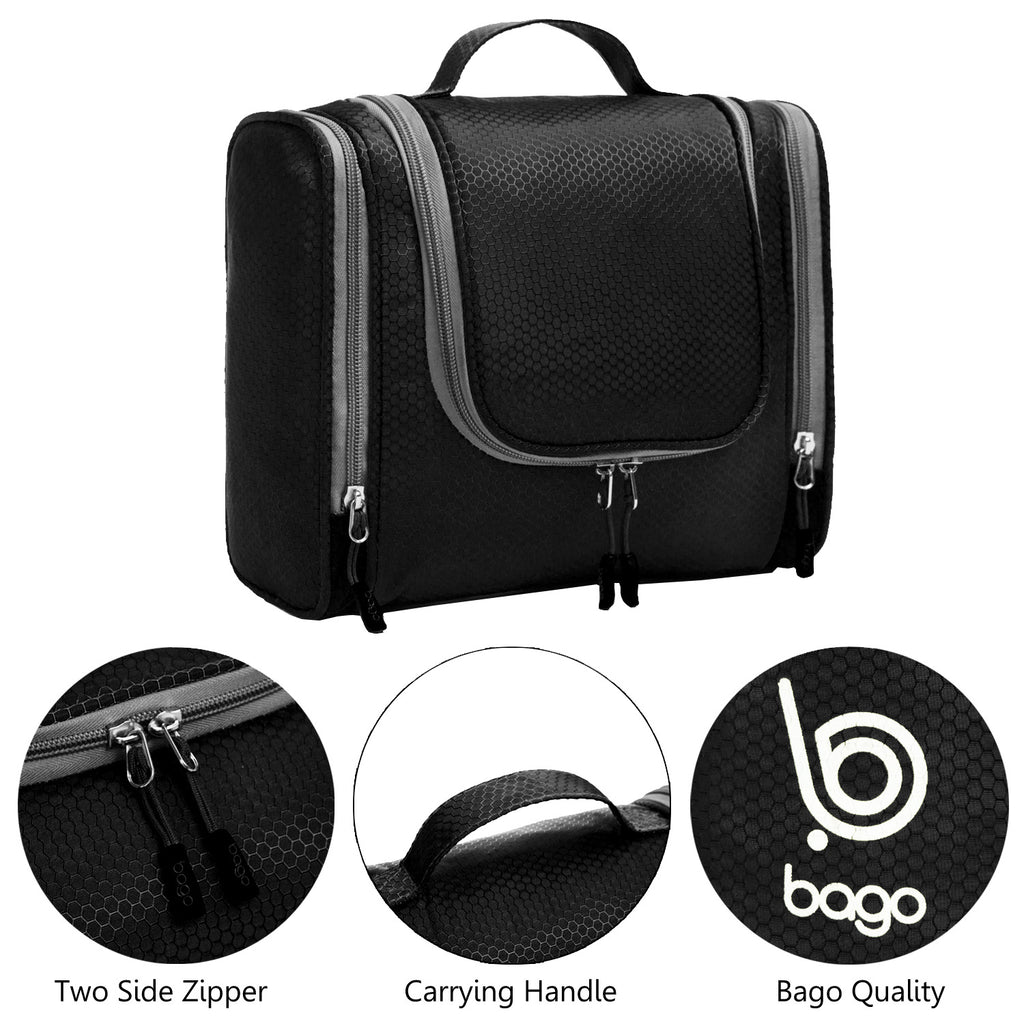d344371addf3 Hanging Toiletry Bag - Use For Makeup, Cosmetic, Shaving, Travel ...