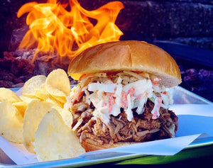 Smoked Pulled Pork Sandwich