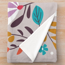 "Load image into Gallery viewer, ""BIRD SONG"" Fleece Blanket"