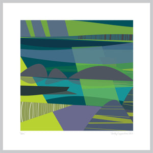 """INLETS"" ART PRINT UNFRAMED"