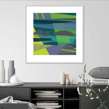 "Load image into Gallery viewer, ""INLETS"" ART PRINT UNFRAMED"
