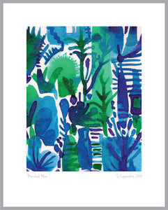 """MARRAKESH BLUE"" LIMITED EDITION ART PRINT"