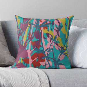 """TWIGS"" VELVET ART CUSHION LIMITED EDITION"