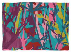 """TWIGS"" Fleece Blanket"