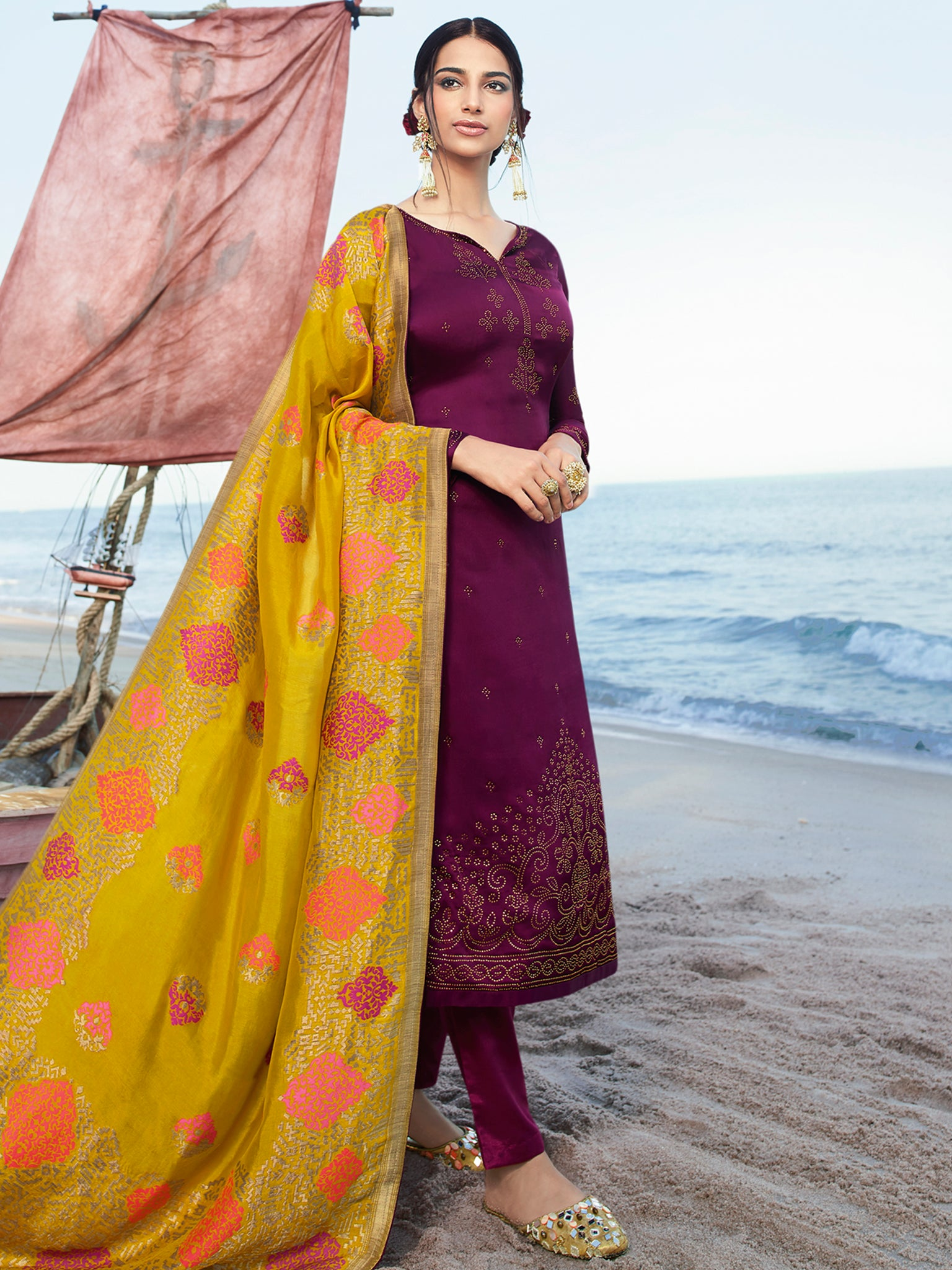 Salwar Suit (Semi Stitched)