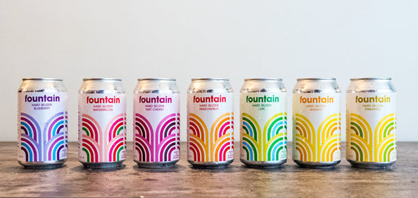 What is hard seltzer? Fountain Hard Seltzer