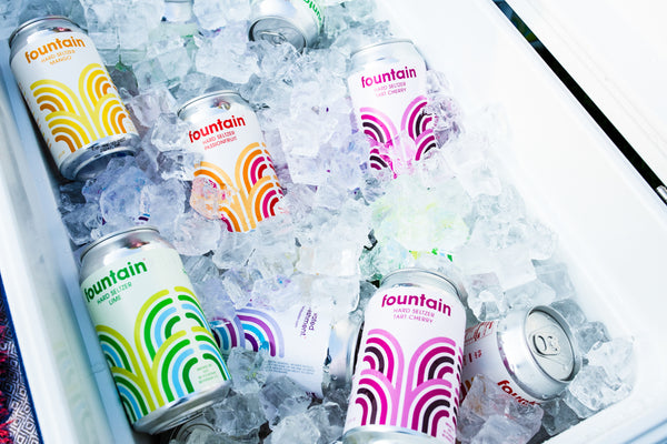 Fountain hard seltzer comes in 7 flavours