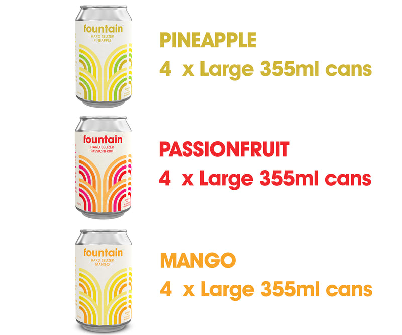 *NEW* Tropical Mixed Sampler (12 cans)