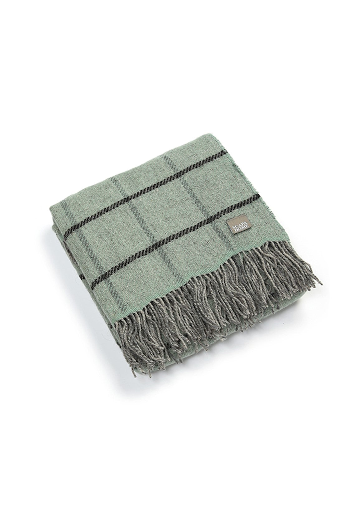 PLAID 'GREEN' - SCAPA HOME OFFICIAL