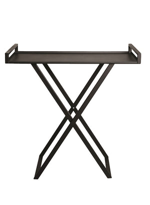 Open image in slideshow, FOLDING SIDE TABLE 'IRON' - Side Tables - SCAPA HOME - SCAPA HOME OFFICIAL