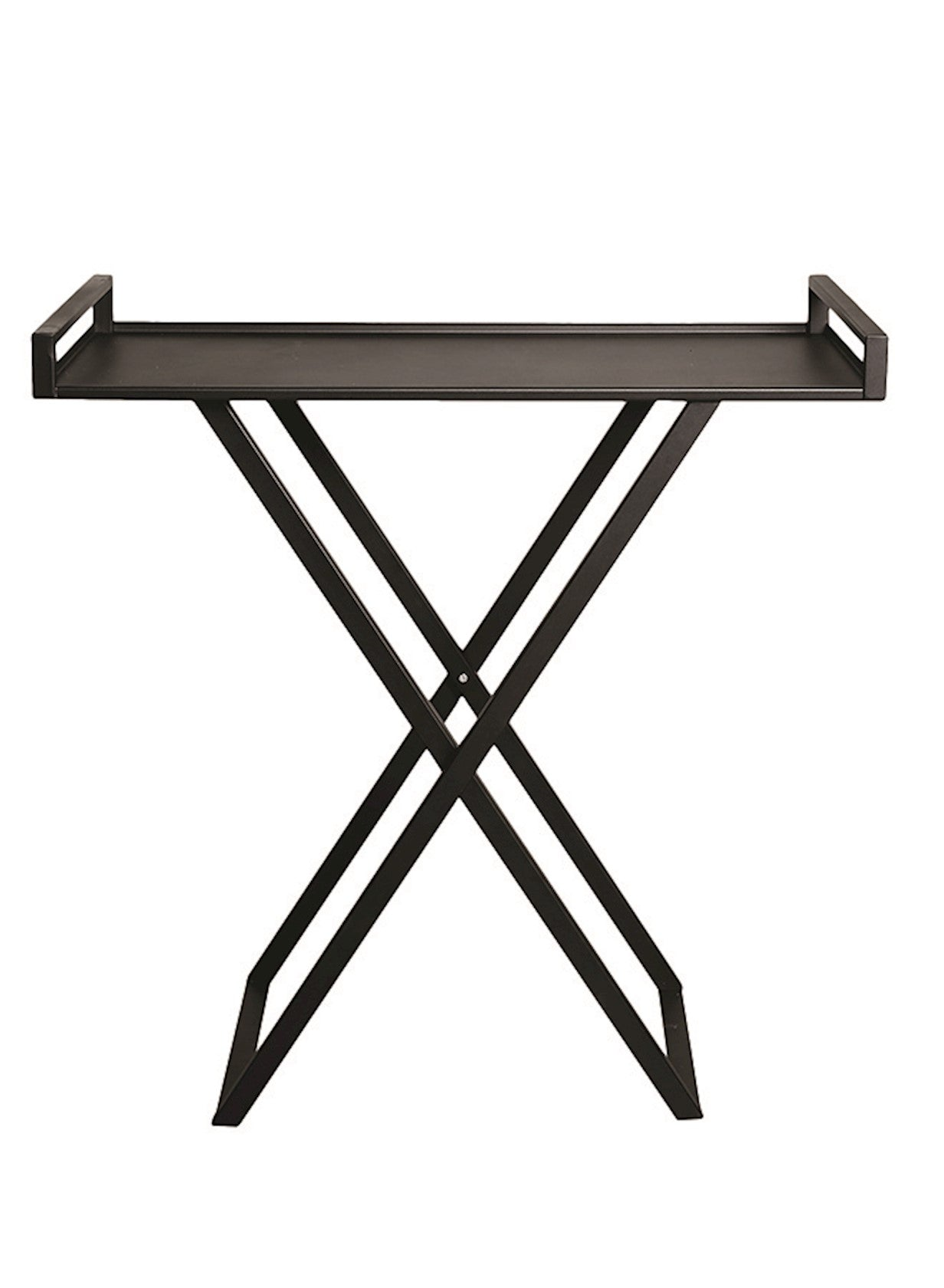 FOLDING SIDE TABLE 'IRON' - Side Tables - SCAPA HOME - SCAPA HOME OFFICIAL