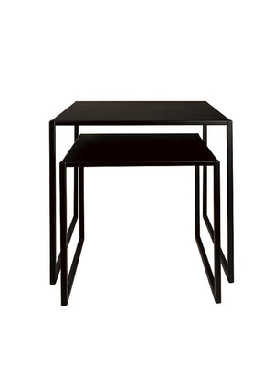 Open image in slideshow, SIDE TABLE SET 'IRON' - Side Tables - SCAPA HOME - SCAPA HOME OFFICIAL