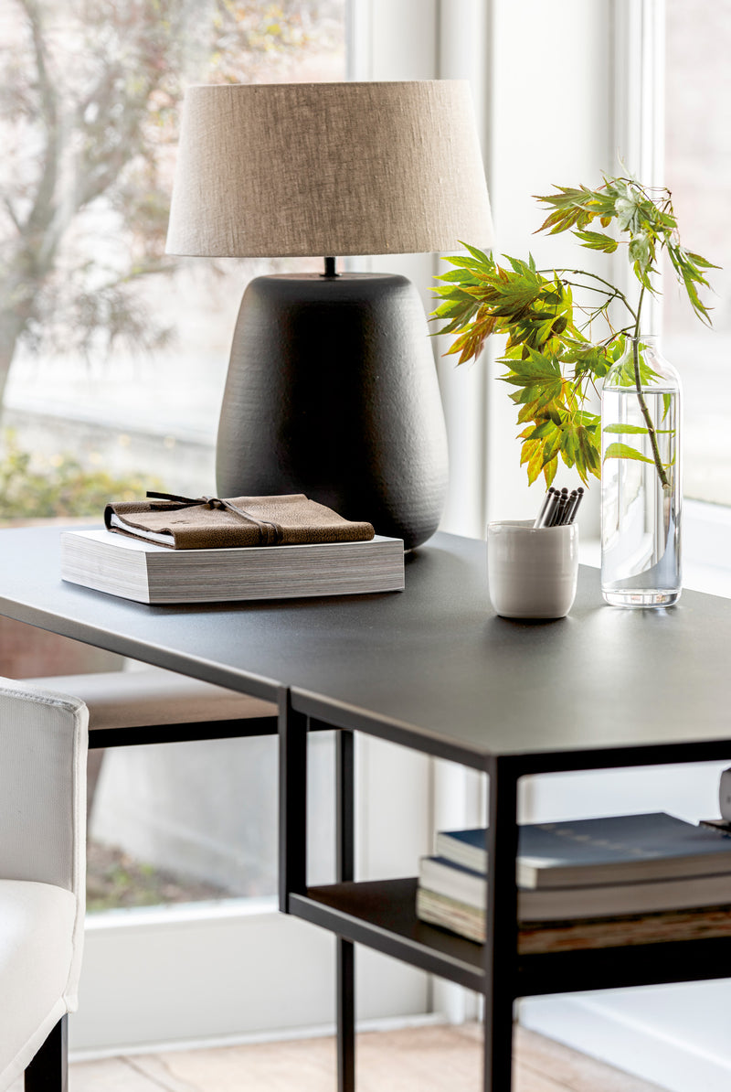 OFFICE TABLE 'IRON' - Office Tables - SCAPA HOME - SCAPA HOME OFFICIAL