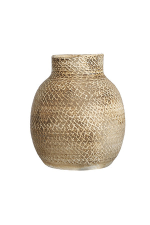 Open image in slideshow, VASE 'HONEY' NECK - Vases - SCAPA HOME - SCAPA HOME OFFICIAL