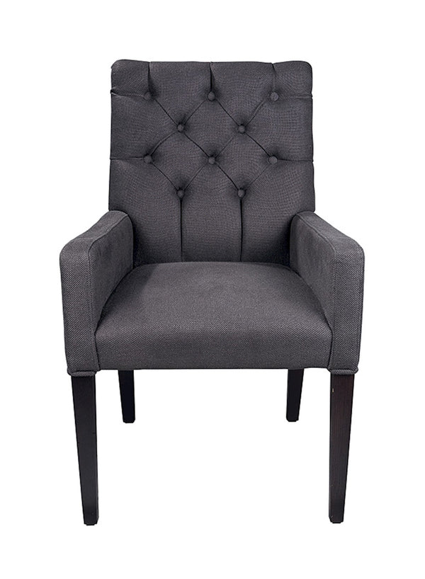 BUTTONED DINING ARMCHAIR 'BEN' - Dining Armchairs - SCAPA HOME - SCAPA HOME OFFICIAL