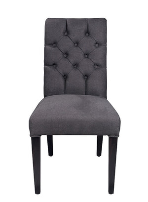 Open image in slideshow, BUTTONED DINING CHAIR 'BILL' - SCAPA HOME OFFICIAL