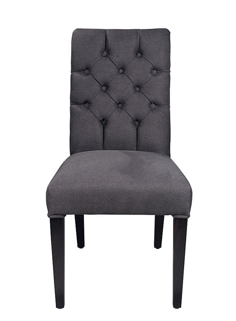 BUTTONED DINING CHAIR 'BILL' - Dining Chairs - SCAPA HOME - SCAPA HOME OFFICIAL