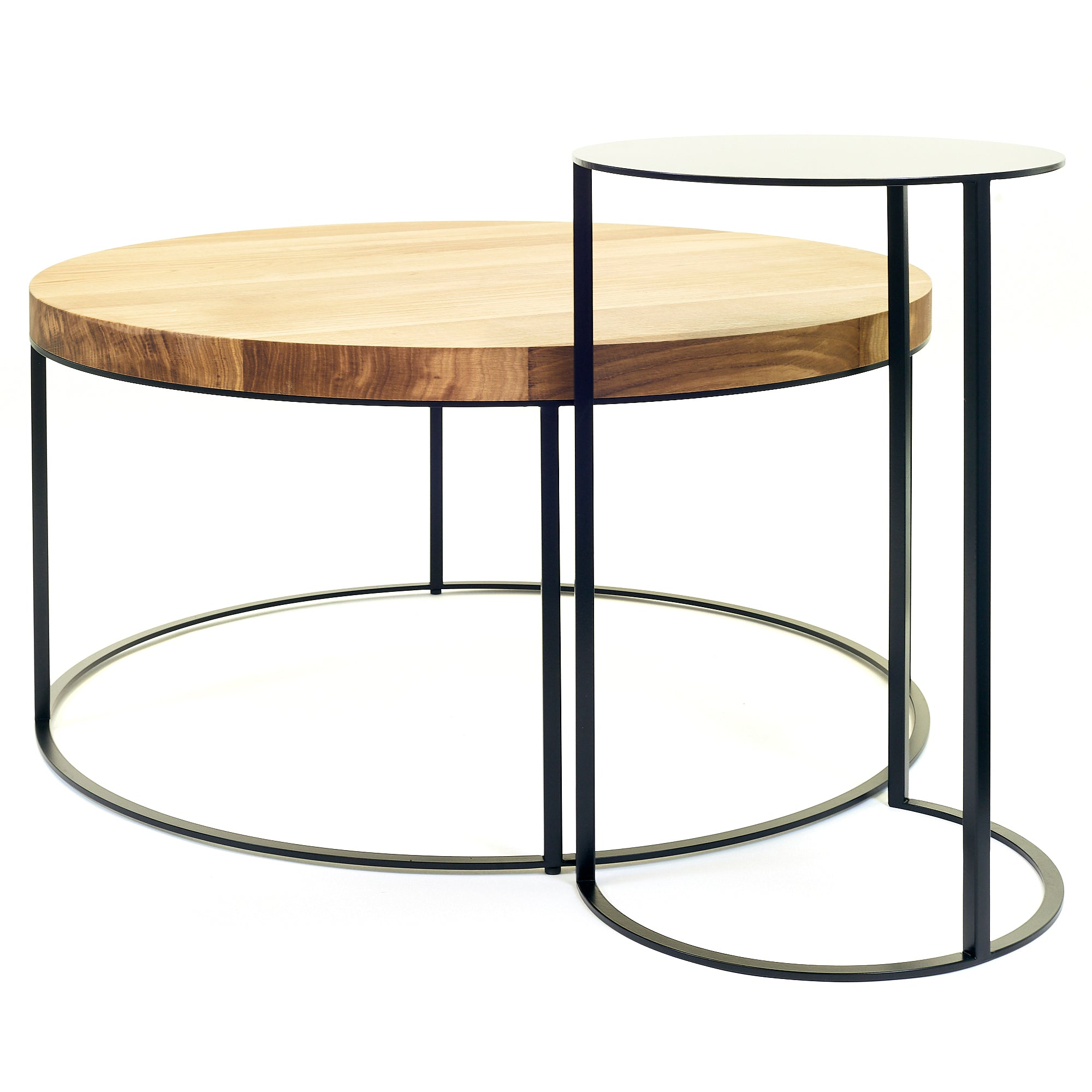 ROUND SIDE TABLE 'RAD' - SCAPA HOME OFFICIAL