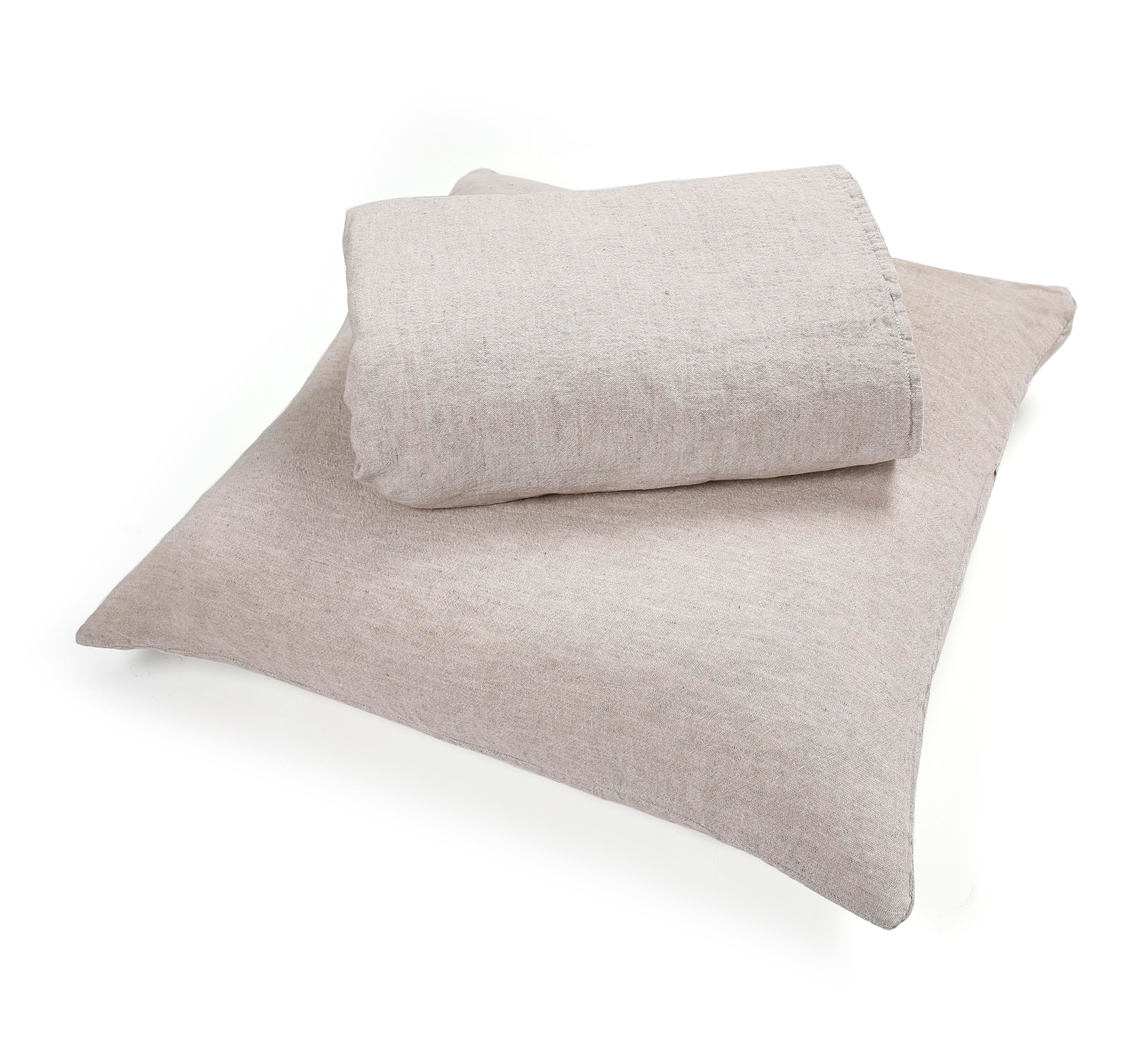 SET DUVET COVER & 2 PILLOWCASES 'BALE' - Bed Linen - SCAPA HOME - SCAPA HOME OFFICIAL