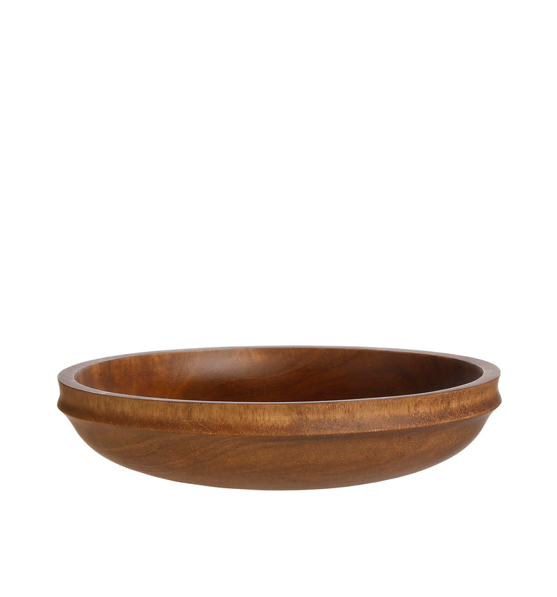WOODEN SERVING PLATE 'LATHE' - Serveware - SCAPA HOME - SCAPA HOME OFFICIAL