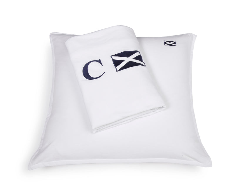 SET DUVET COVER & PILLOWCASE 'POLO' - Bed Linen - SCAPA HOME - SCAPA HOME OFFICIAL