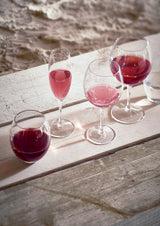 BOURGOGNE WINE GLASSES 'BUBBLE' ( 6 x ) - Drinkware - SCAPA HOME - SCAPA HOME OFFICIAL