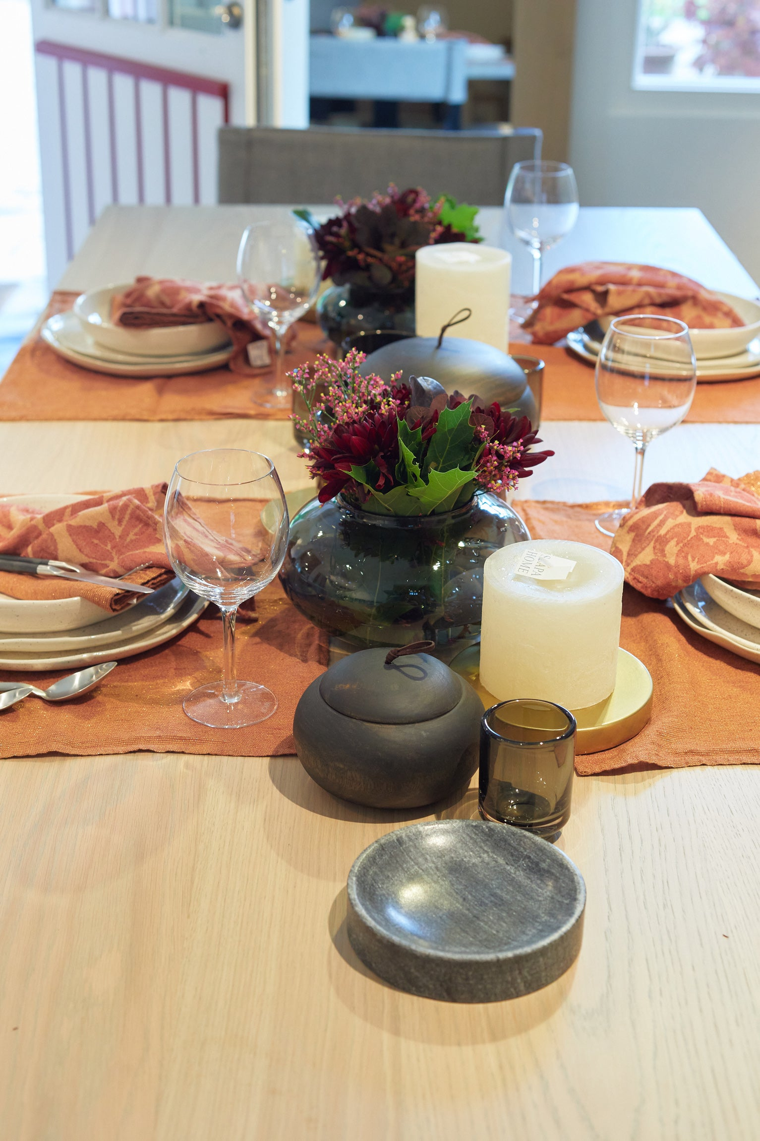 RUNNER 'SHINY' - Table Linen - SCAPA HOME - SCAPA HOME OFFICIAL