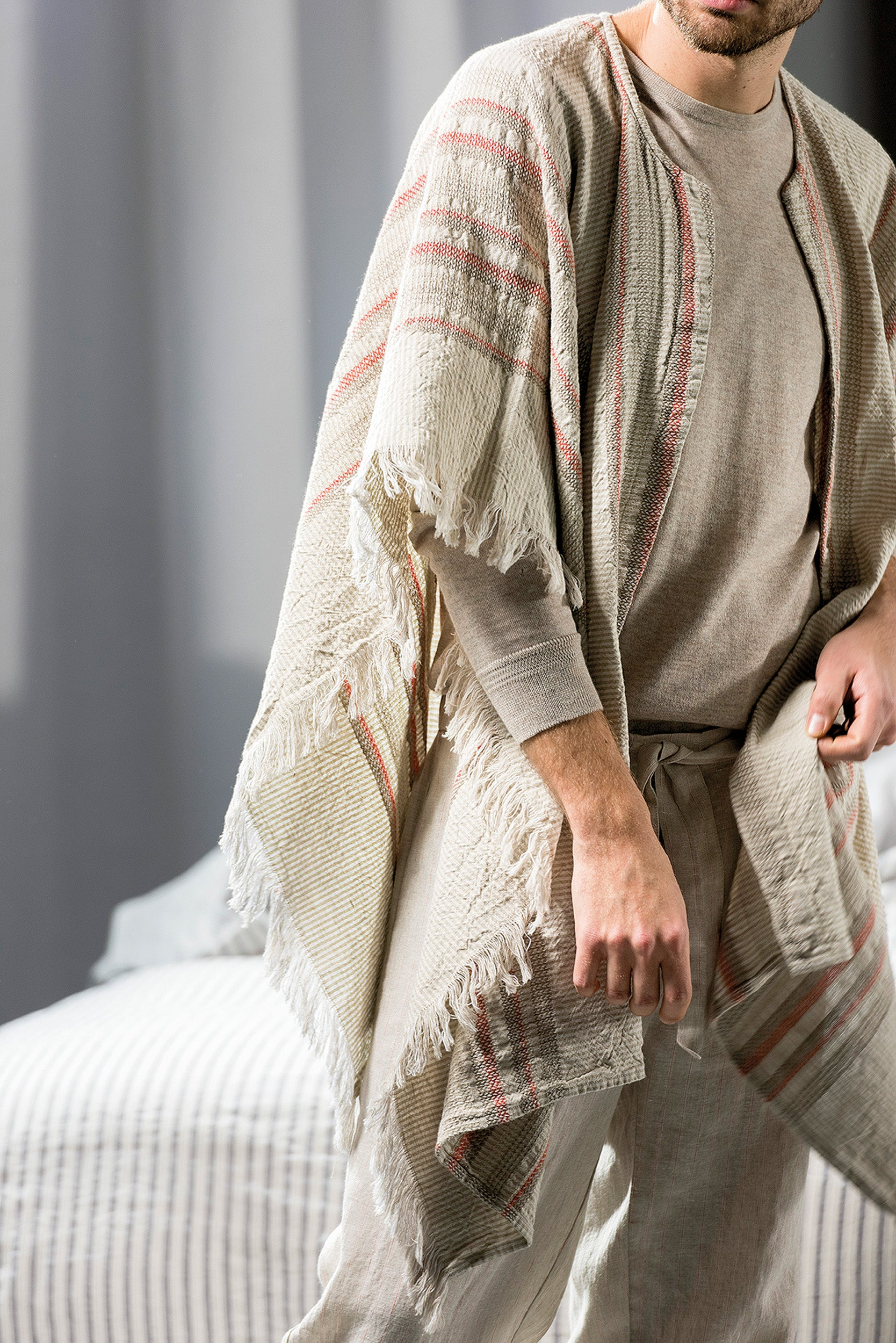 PONCHO 'ARGENTINA' - Robes & Sleepwear - SCAPA HOME - SCAPA HOME OFFICIAL