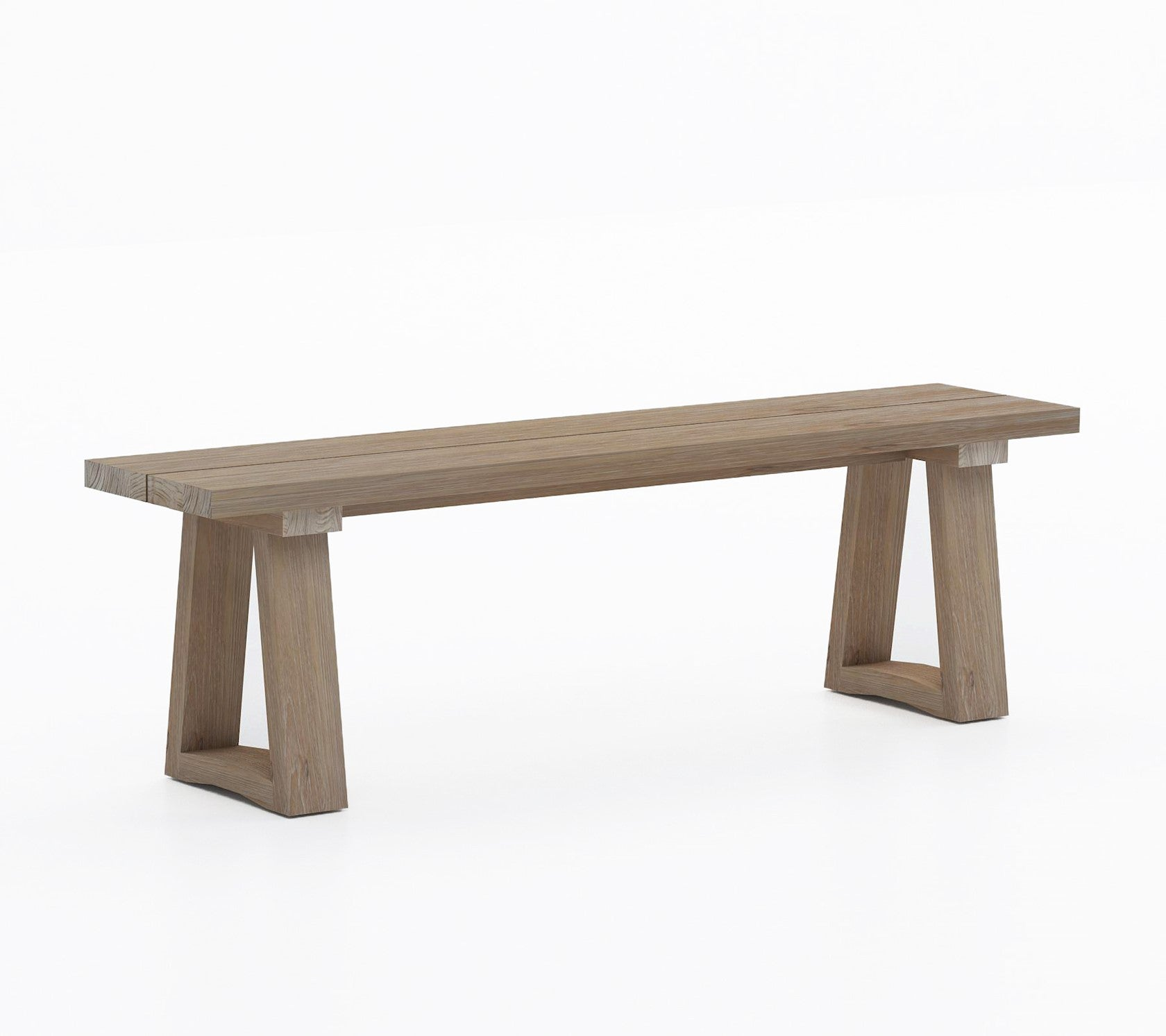 OUTDOOR BENCH 'ALBA' - Outdoor Benches - SCAPA HOME - SCAPA HOME OFFICIAL