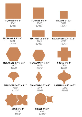 eso surfaces size guide
