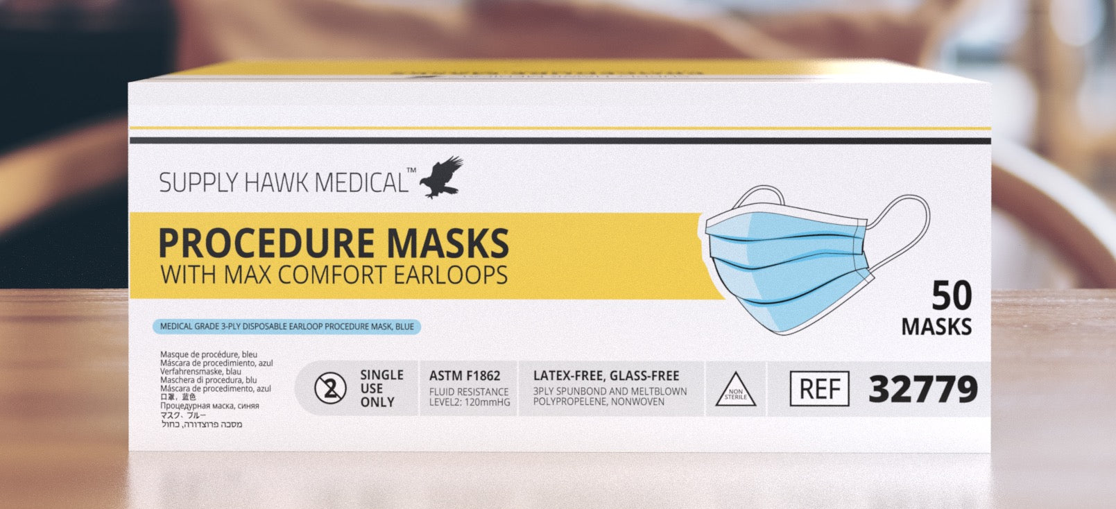 Supply Hawk Procedure Masks (32779)