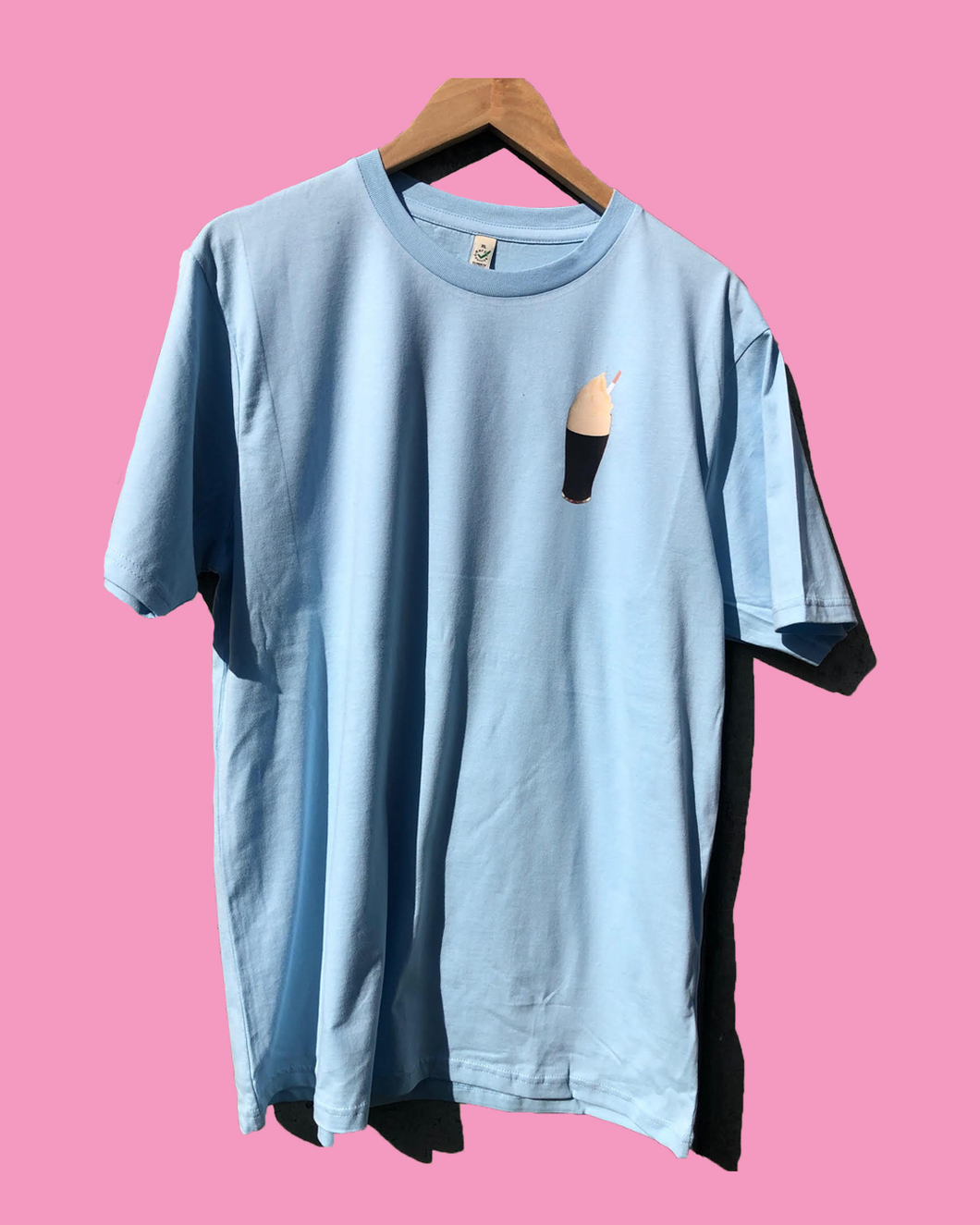 Ice Cream Pint T-Shirt Light Blue