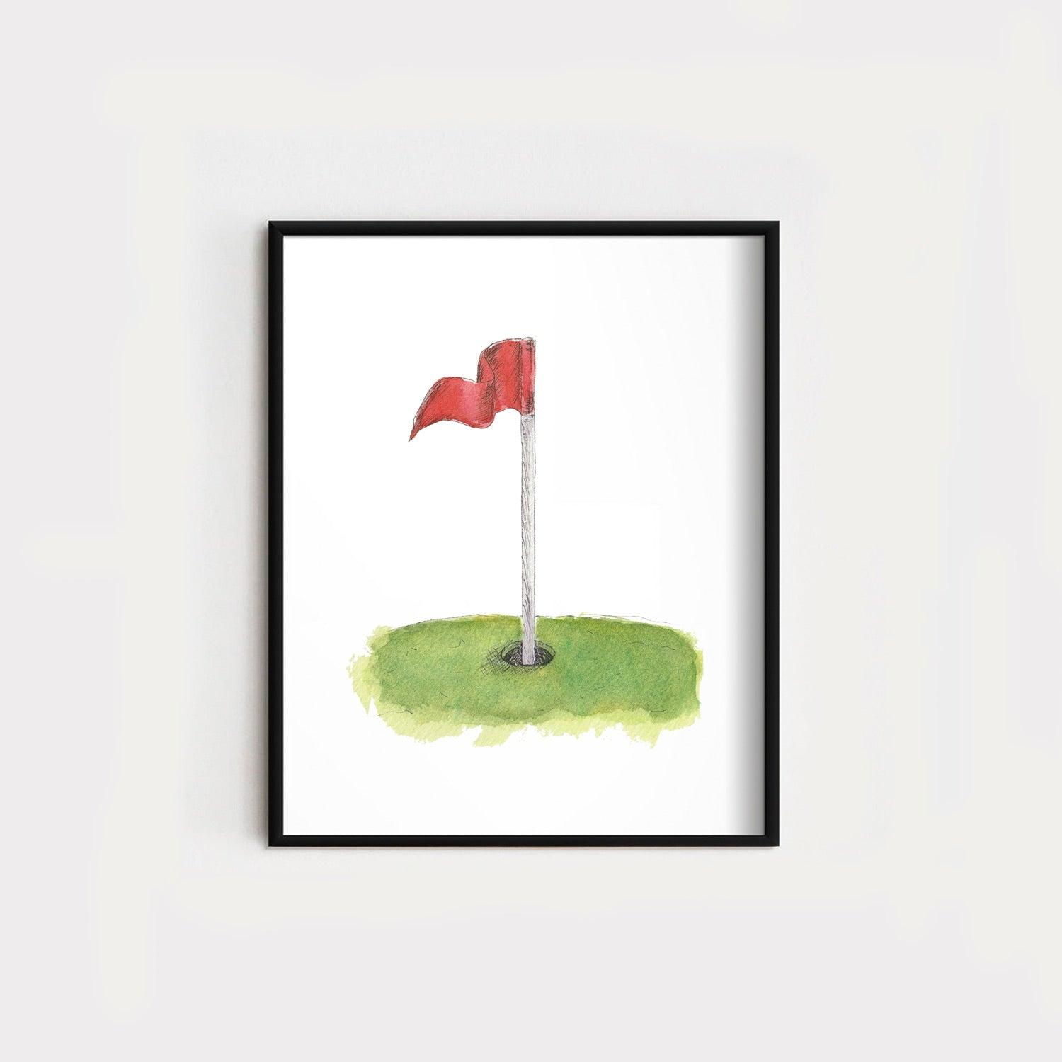 Golf Flag Original