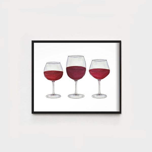 Red Wine Trio WHOLESALE