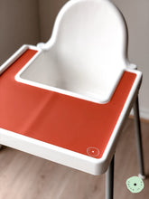 Load image into Gallery viewer, CARAMEL Highchair Silicone Placemat | IKEA Antilop Mats High Chair Place Mat