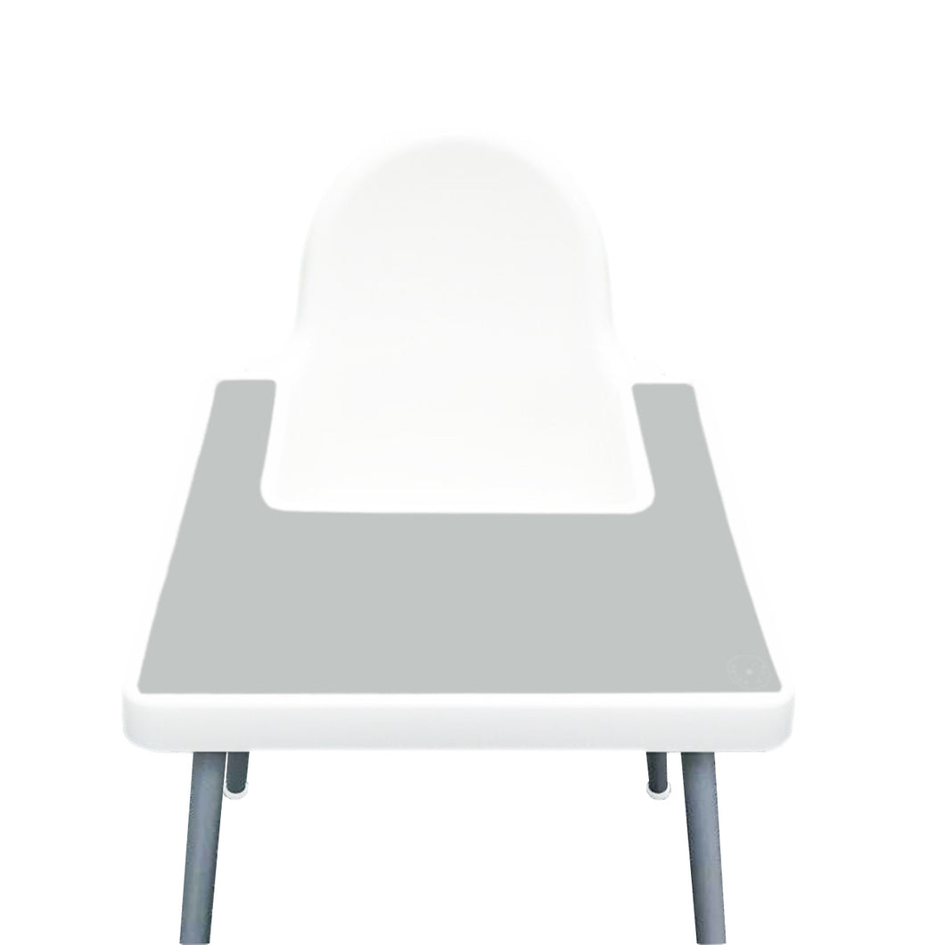 STEEL GREY Highchair Silicone Placemat | IKEA Antilop Mats High Chair Place Mat