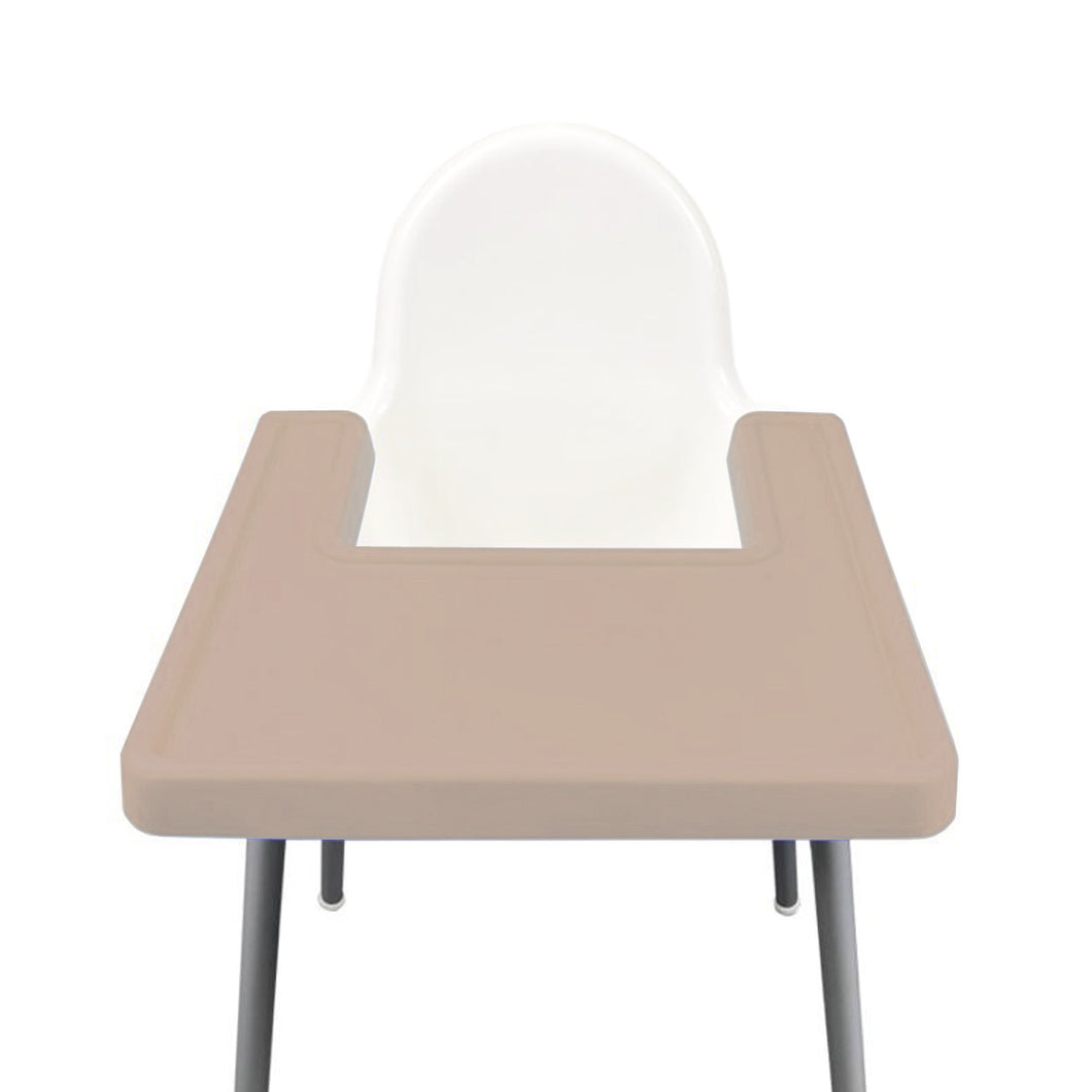 COFFEE Highchair Coverall Silicone Placemat 2.0 | IKEA Antilop Mats High Chair Place Mat