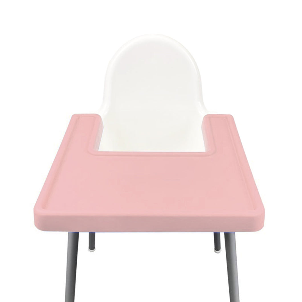 BLUSH Highchair Coverall Silicone Placemat 2.0 | IKEA Antilop Mats High Chair Place Mat