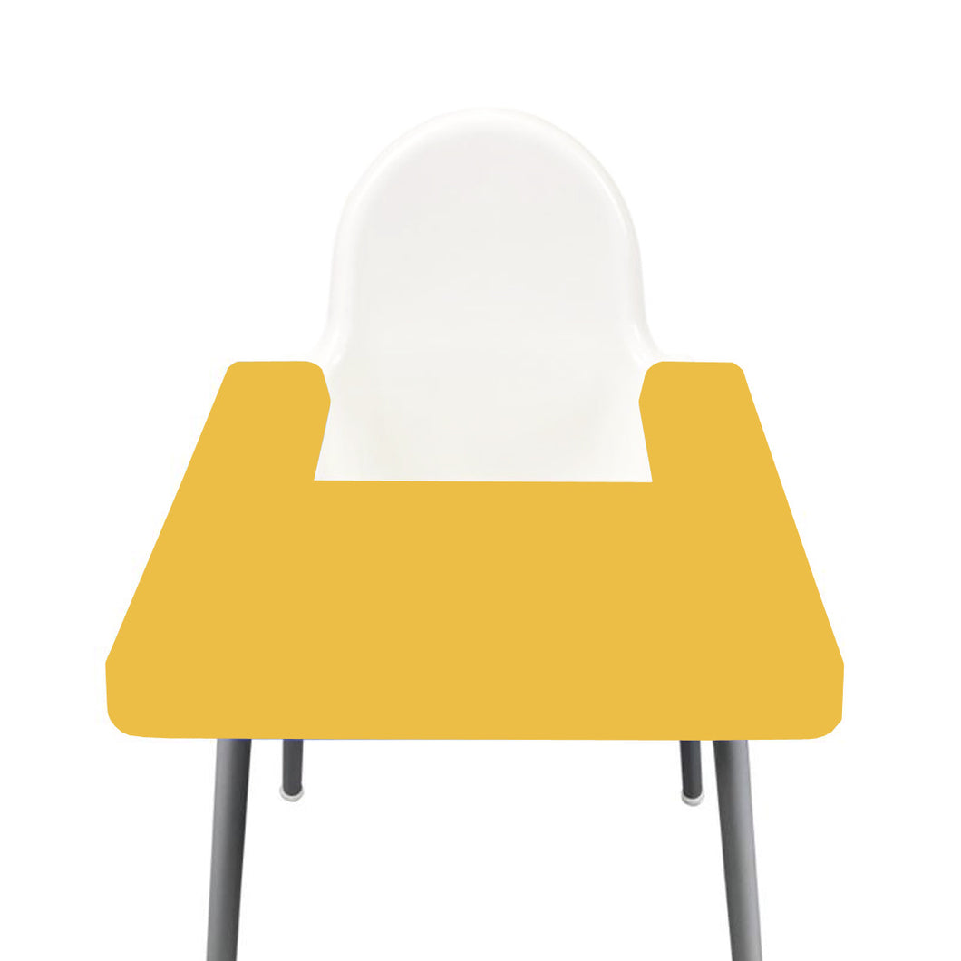 MUSTARD Highchair Coverall Silicone Placemat 2.0 | IKEA Antilop Mats High Chair Place Mat
