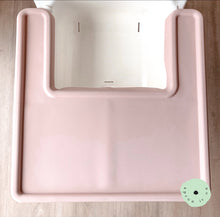Load image into Gallery viewer, BLUSH Highchair Coverall Silicone Placemat 2.0 | IKEA Antilop Mats High Chair Place Mat