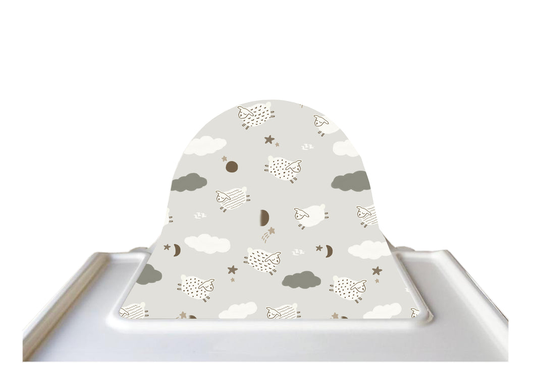 Twinkle Little Sheep Highchair Cushion Cover
