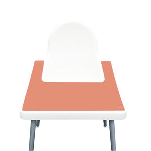 PEACH Highchair Silicone Placemat | IKEA Antilop Mats High Chair Place Mat