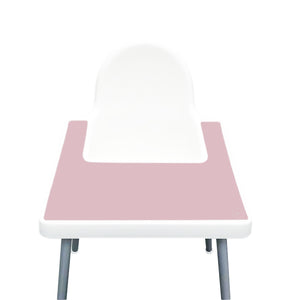 DUSTY PINK Highchair Silicone Placemat | IKEA Antilop Mats High Chair Place Mat