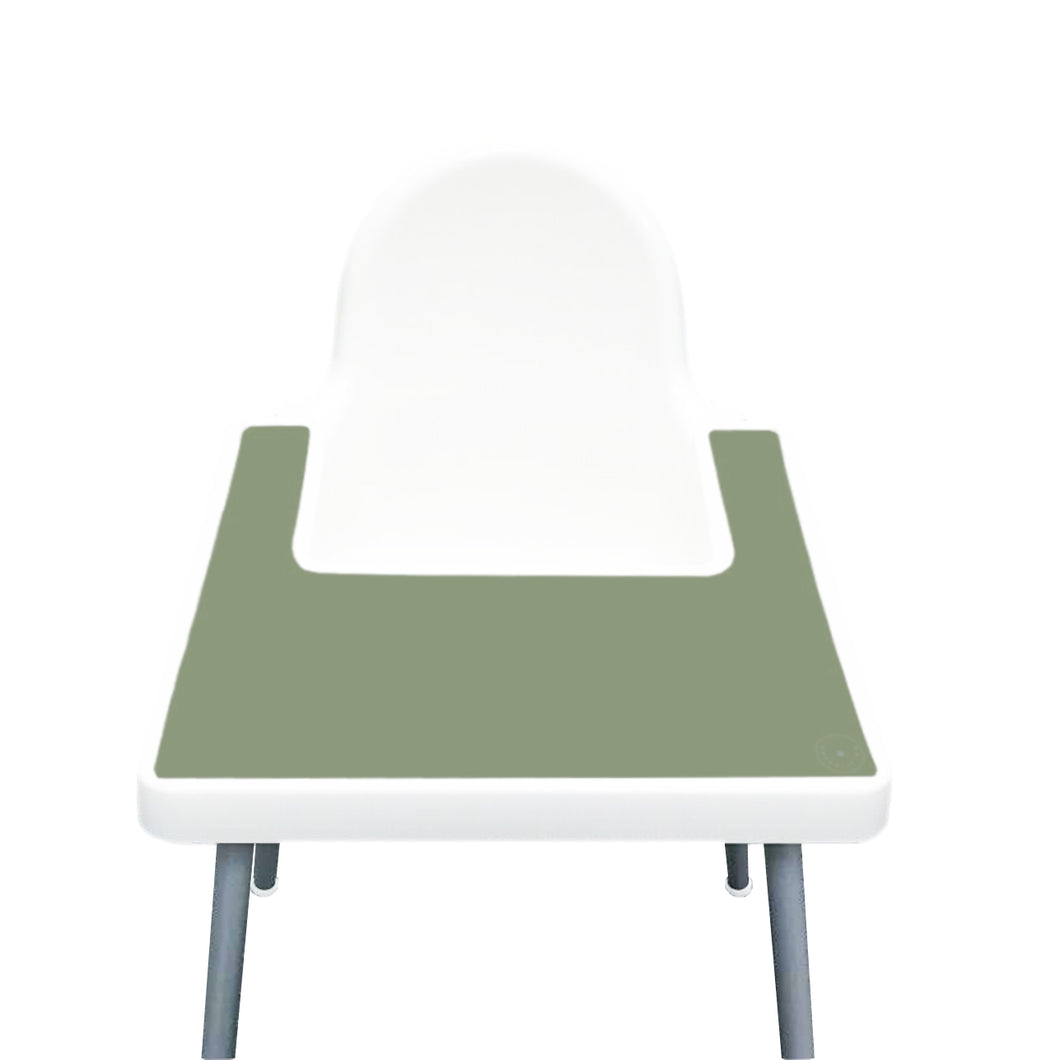 FERN Highchair Silicone Placemat | IKEA Antilop Mats High Chair Place Mat