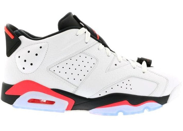 Jordan 6 Retro Low Infrared White