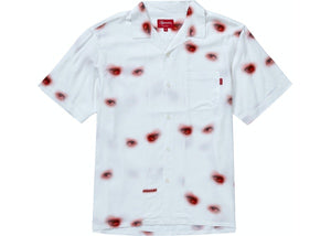 Supreme Eyes Rayon Shirt Off White