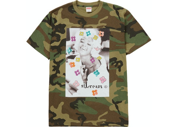 Load image into Gallery viewer, Supreme Naomi Tee Woodland Camo
