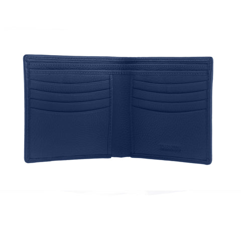 Billetera Dents Leather Billfold RFID Azul Dent´s