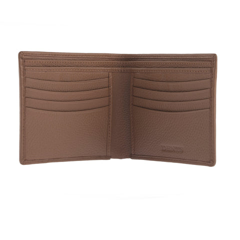 Billetera Dents Leather Billfold RFID Café Claro Dent´s